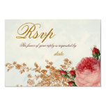 Blenheim Rose - Summer Sky RSVP 3.5x5 Paper Invitation Card