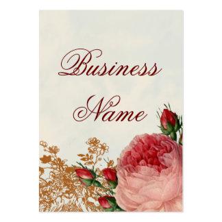 Blenheim Rose - Summer Sky -swing tag Large Business Cards (Pack Of 100)