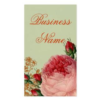 Blenheim subió - verde salvia elegante - balancea tarjetas de visita