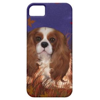 Blenhiem, caja arrogante del teléfono del perro de iPhone 5 fundas