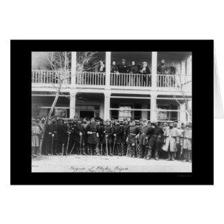 Blenkers Brigade Headquarters 1864 Card