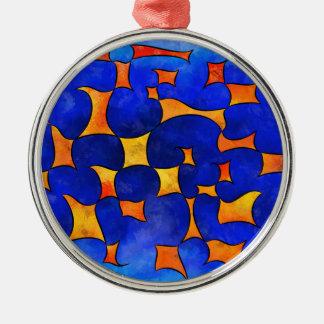 Blesmios V1- melting cubes Metal Ornament