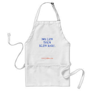 Bless baby Apron
