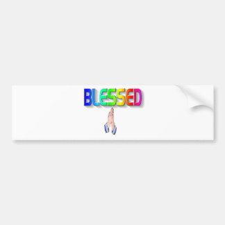 Bless Bumper Sticker