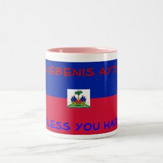 Bless Haiti mug