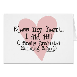 Bless my Heart - I did it! Card
