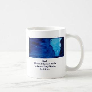 BLESS OUR ENEMIES COFFEE MUG