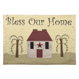 Bless Our Home Placemat