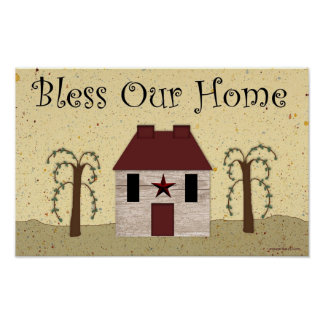 Bless Our Home Print