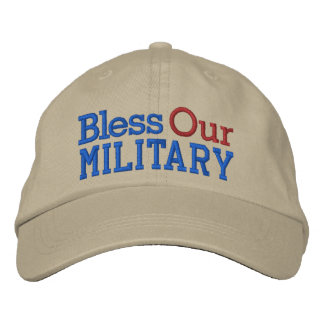 Bless Our Military Cap by SRF