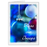 Bless our Troops holiday card