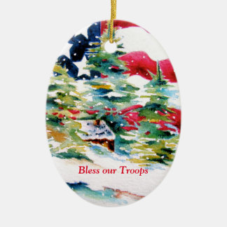 Bless our Troops Ornament