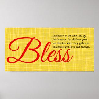 Bless Poster