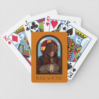 BLESS THE BOND BICYCLE PLAYING CARDS