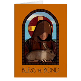 BLESS THE BOND GREETING CARD