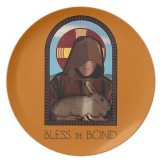 BLESS THE BOND PLATE