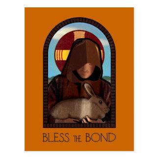 BLESS THE BOND POSTCARD