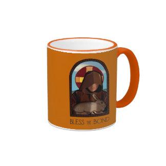 BLESS THE BOND RINGER COFFEE MUG