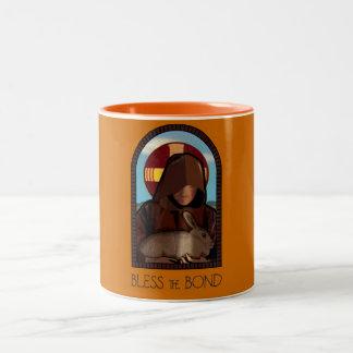 BLESS THE BOND Two-Tone COFFEE MUG