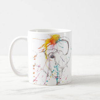 Bless the Elephants Coffee Mug