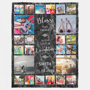 Make Your Own 24 Twenty Four Photo Collage Frame Blanket Bundle Up