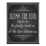 Bless this food for wedding reception Print