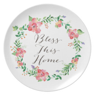 Bless this Home Decorative Plate