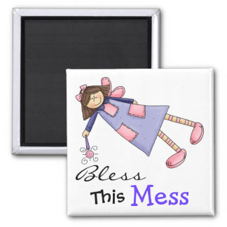 Bless This Mess Magnet by SRF