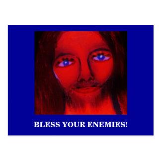 BLESS YOUR ENEMIES POSTCARD