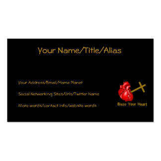 Bless Your Heart Business Card