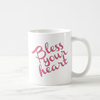 Bless Your Heart Classic White Coffee Mug