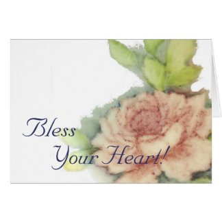 Bless Your Heart!-Customize Card