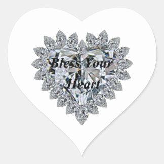 Bless Your Heart Heart Sticker
