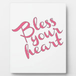 Bless Your Heart Photo Plaques
