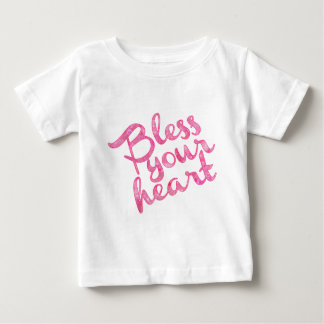 Bless Your Heart Pink Sparkle T-shirt