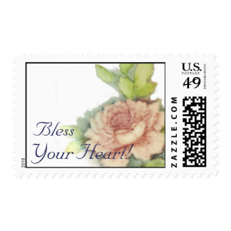 Bless Your Heart! Postal Stamp-Customize