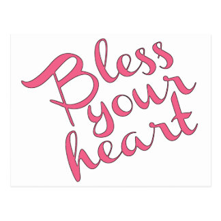Bless Your Heart Postcard