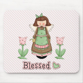 Blessed Angel 3 Mouse Pad