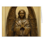 Blessed Angel Large Greeting Card