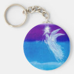 Blessed Angel of Travellers Key Chain