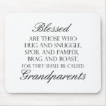 Blessed Are... Grandparents Mouse Pad