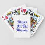 Blessed Are The Bluenoses Poker Cards