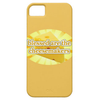 BLESSED ARE THE CHEESEMAKERS CHEESE LOVERS iPhone 5 COVER