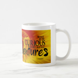 Blessed are the Curious Classic White Coffee Mug