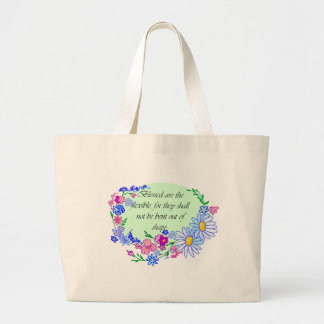 Blessed are the Flexible Canvas Bag