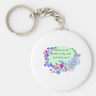 Blessed are the Flexible Keychain