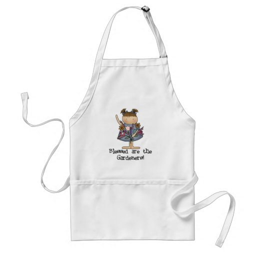 Blessed are the Gardeners Adult Apron
