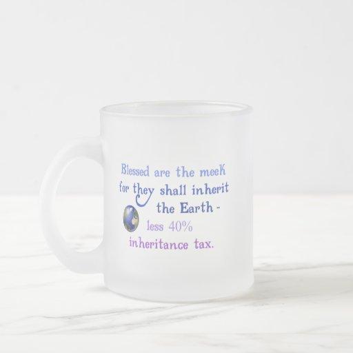Blessed are the Meek Mug