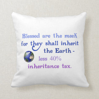 Blessed are the Meek Pillow