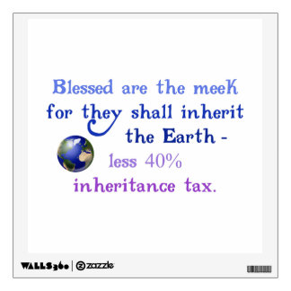 Blessed are the Meek Wall Sticker